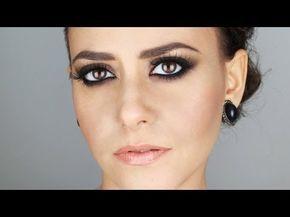 Tutorial Trucco occhi marroni - Electric Blue - YouTube