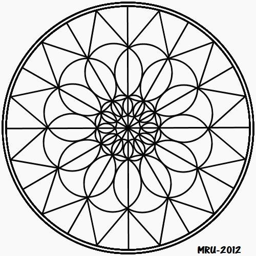 17 best images about mandalas hippies on pinterest zentangle patterns flower mandala and - Mandala facile ...