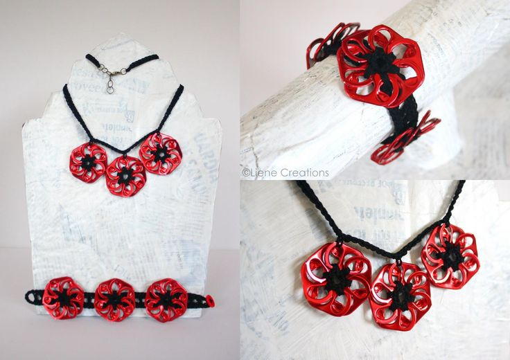 Liene Creations: Can Pop-Tops-Pull-Tabs...