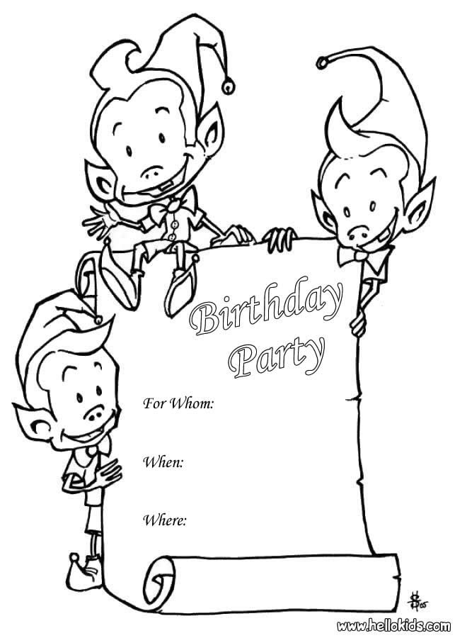 Colouring Pages H Y Birthday : 256 best coloriage anniversaire images on pinterest