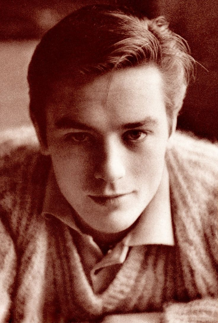 ALAIN DELON legendary French actor, very young in the late 1950's, vintage Japan…