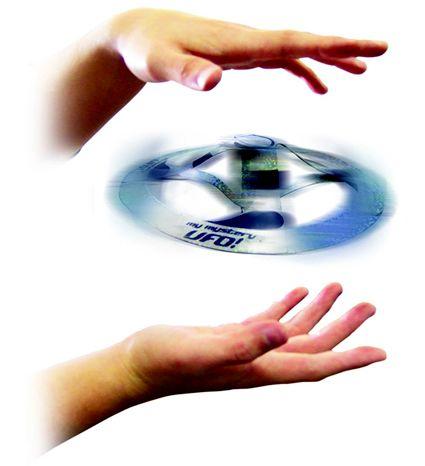 ¿Te imaginas tener un OVNI volador al alcance de tu mano? ;-)