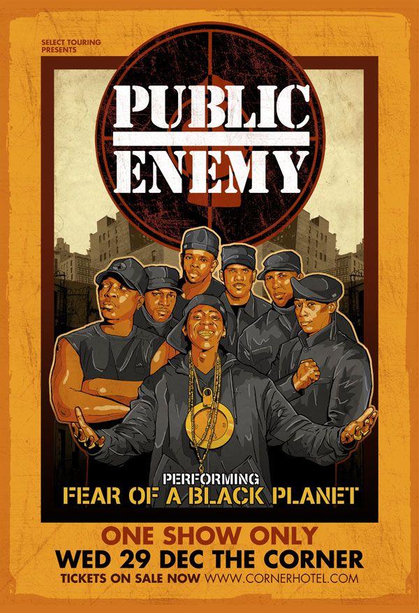 #publicenemy #debaser #poster #illustration