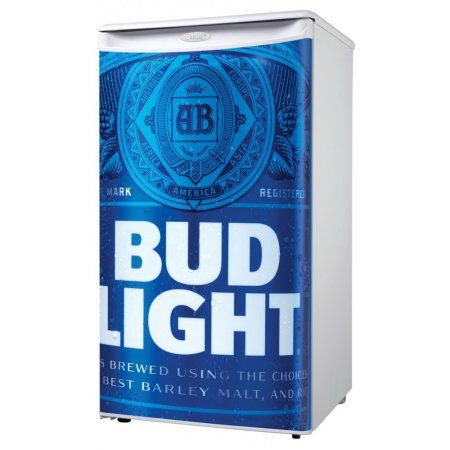 Danby 3.2 cu.ft. Compact Refrigerator With Budweiser Door, White