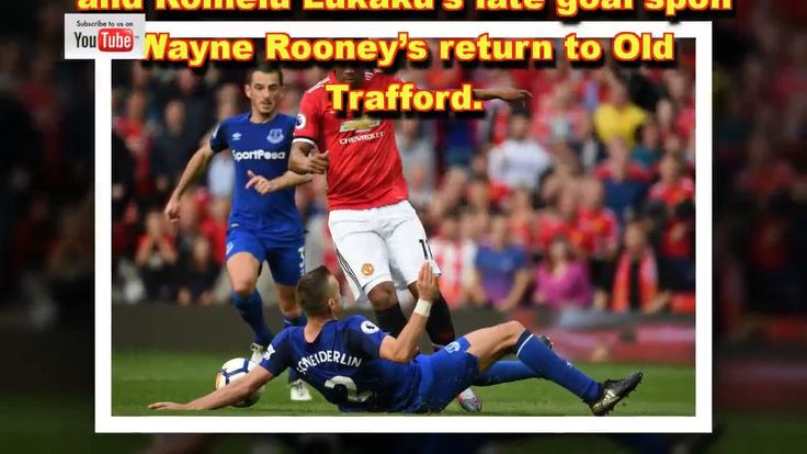 Manchester United win again Anthony Martial Matteo Darmian and Wags beat Evertons