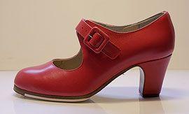 Zapatos de baile flamenco. Flamenco dance shoes