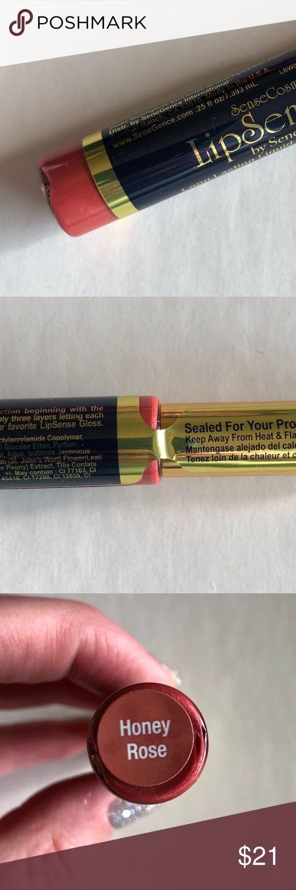 Honey Rose LipSense Sheer Rose Gold Lipstick Model new Sealed Honey Rose LipSe