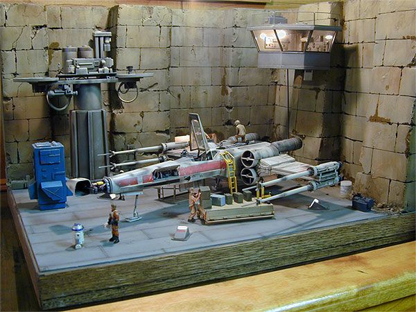The Star Wars model building showing-off thread!