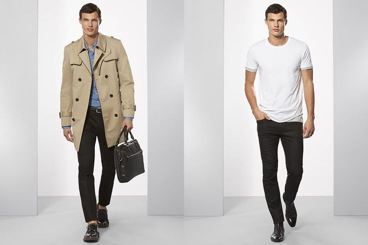 I love a nice Trench Coat. Calibre Spring/Summer 2015 Men's ...