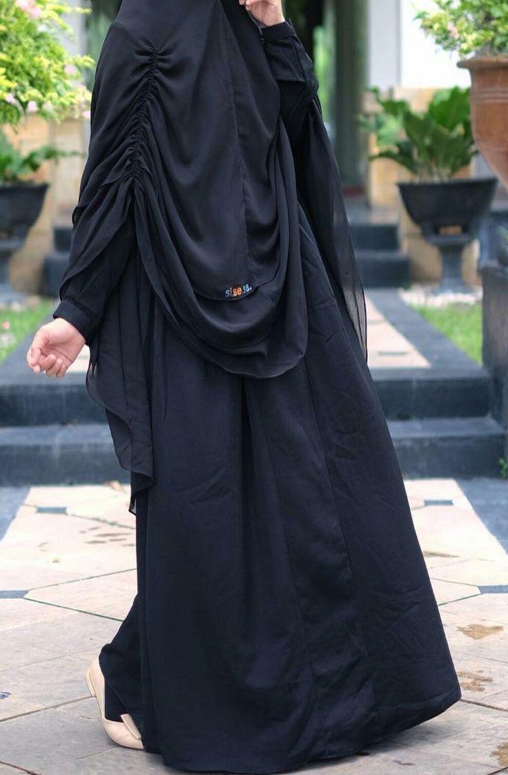 Jilbab syar'i yg bisa digunakan sa'at shalat.