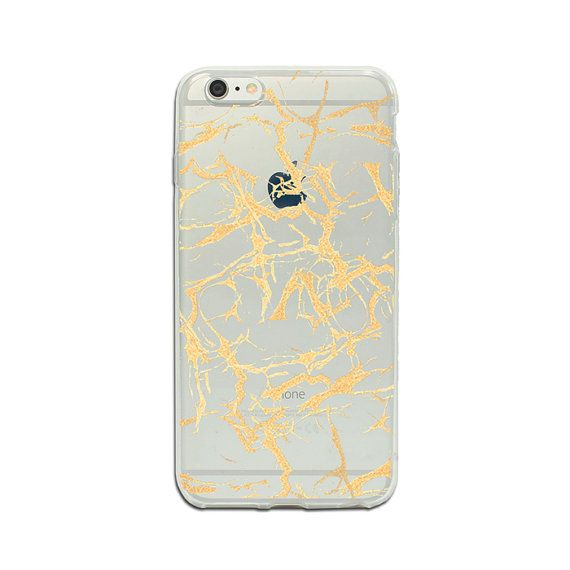 10.90 USD Gold iPhone 6/6s case clear phone case iPhone SE case by ModCases
