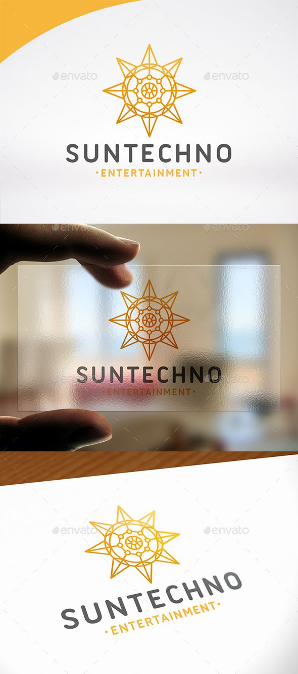 Sun Tech Logo PSD Template  • Only available here ➝ http://graphicriver.net/item/sun-tech-logo-template/16656765?ref=pxcr
