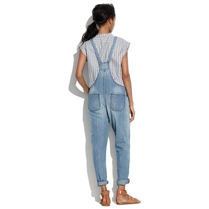Park Overalls in Skyview - denim - Women's NEW ARRIVALS - Madewell