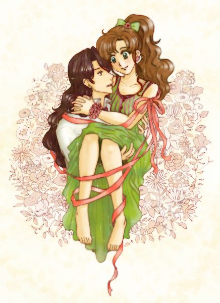 Sailor Jupiter And Nephrite 105 best images about ...