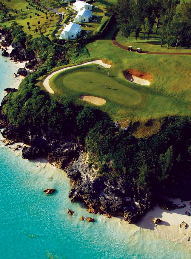 Bermuda Tuckers Point. My favorite golf course!!!