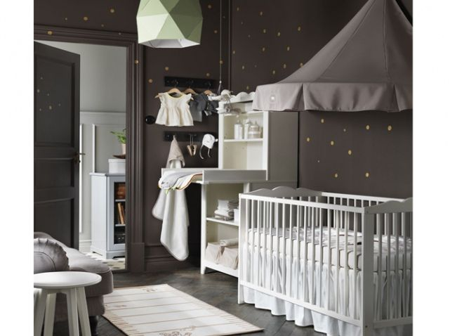 Chambre b b grise the little one pinterest originals for Chambre gender