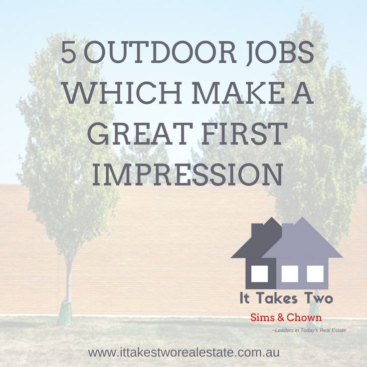First Impressions Last - so when thinking about the 'street appeal' of your home or property, follow these 5 ideas for making a great first impression. #house #annerley #remax #ittakestwo #propertysales #property #diyhouse #gardening