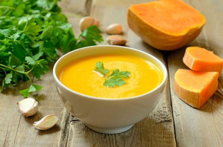 Тыквенный суп-пюре - рецепт со сливками