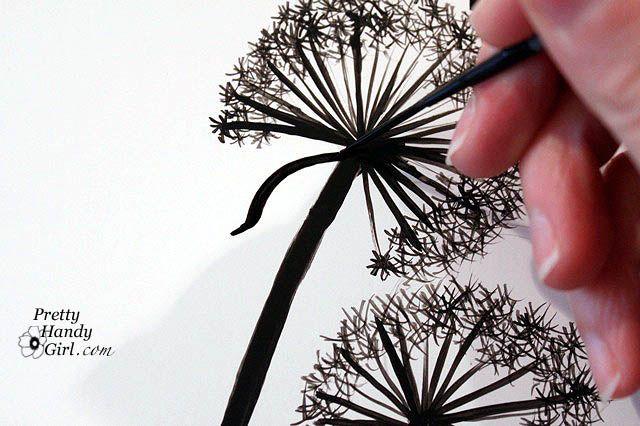 dandelion art diy