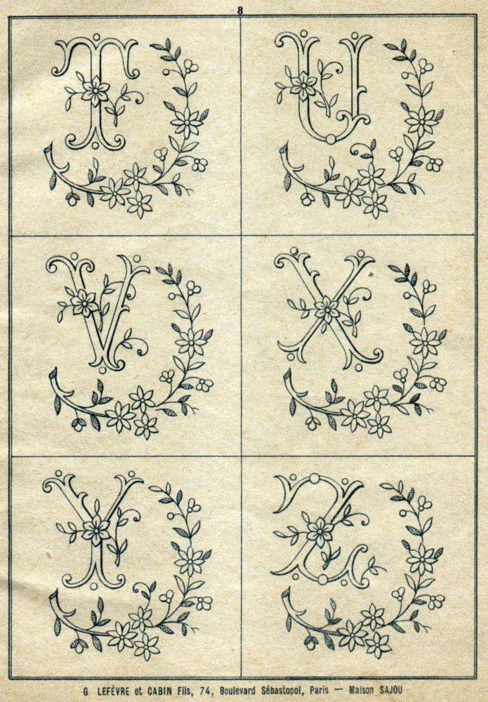 Best cross stitch monograms images on pinterest