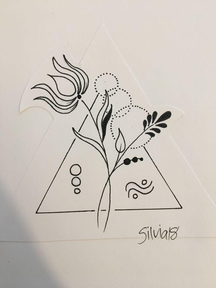 Blumen/ Geometric