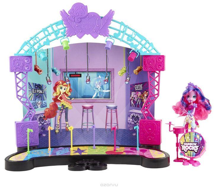 My Little Pony Игровой набор с куклой Рок-концерт Пинки Пай
