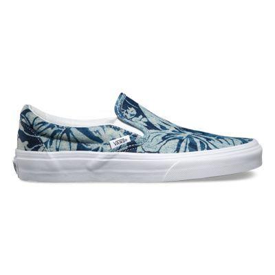 Indigo Tropical Slip-On | Shop Shoes at Vans