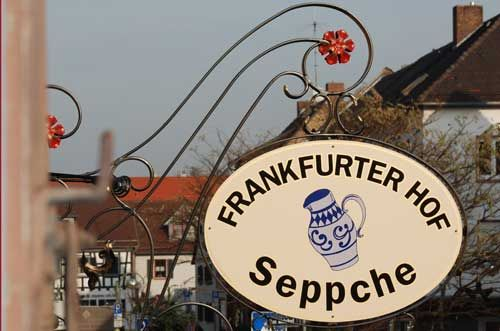 "Ham hock to die for at Gasthaus Frankfurter Hof ""Seppche"" in Schwanheim"