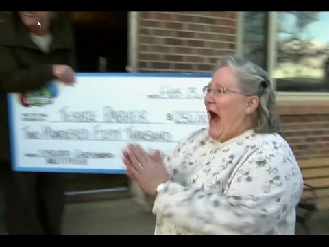This Is What It Feels Like To Win The Colorado Lottery! - YouTube