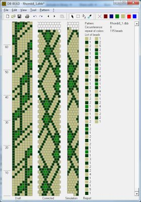 Узоры для вязаных жгутиков-шнуриков 3 | biser.info - всё о бисере и бисерном творчестве