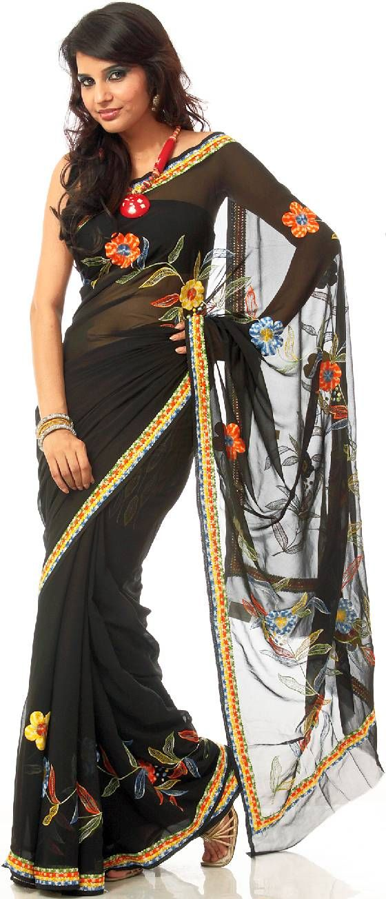 Indian Sari Shop One Of The New Sari Styles Representing The Latest Saree Fasion Love