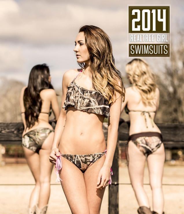 2014 Realtree Girl Camo Swimwear