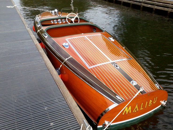 mahogany barrelback speed boat - Google Search | Classic ...