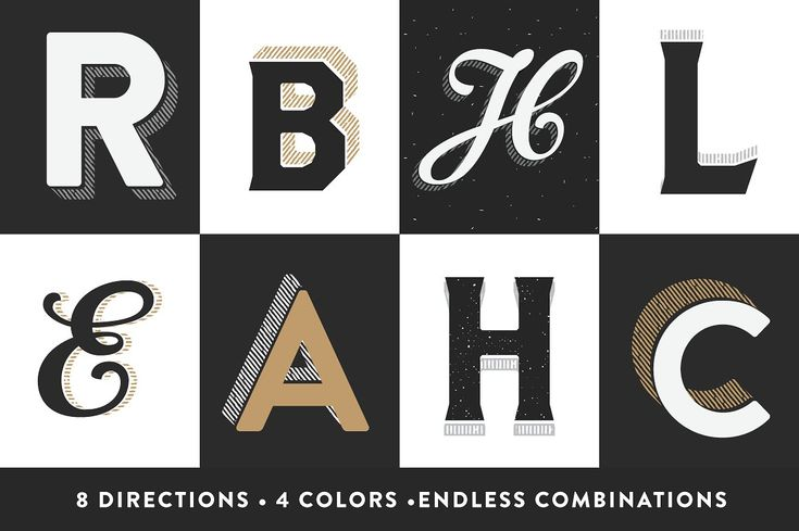 CraftType - 3D Sign Painting Actions by RetroSupply Co. on @creativemarket