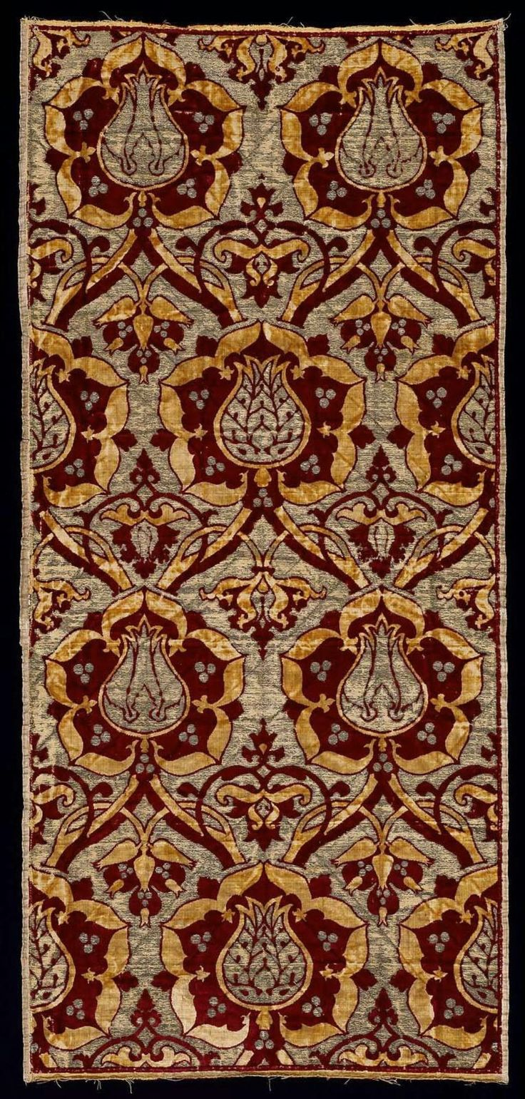 Length of fabric Turkish, Ottoman, First half of the 16th century Turkey