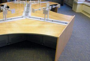 Curved Desk  #officefurniture #dealing #desk