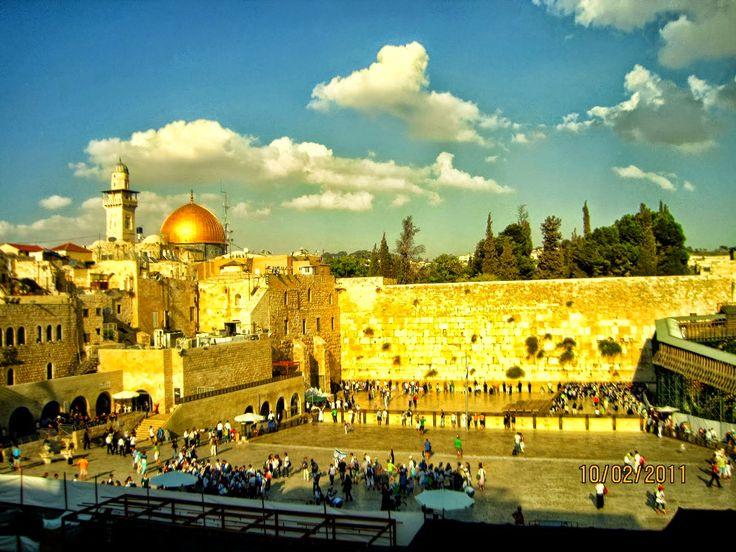 Blessings & Prayers - Bendiciones Y Oraciones: Peace to Jerusalem Psalm 122