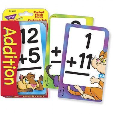 French Addition Pocket Flashcards