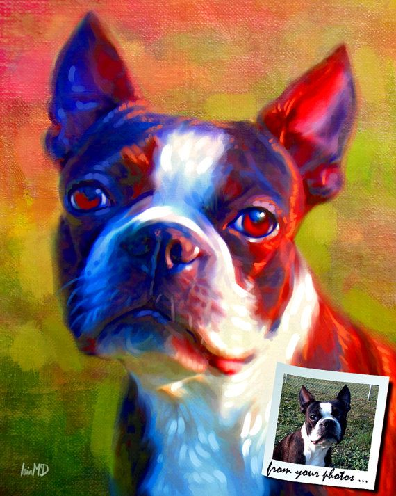 Custom Pet Portrait  your pet my crazy RISK by ScottieInspired, $49.99