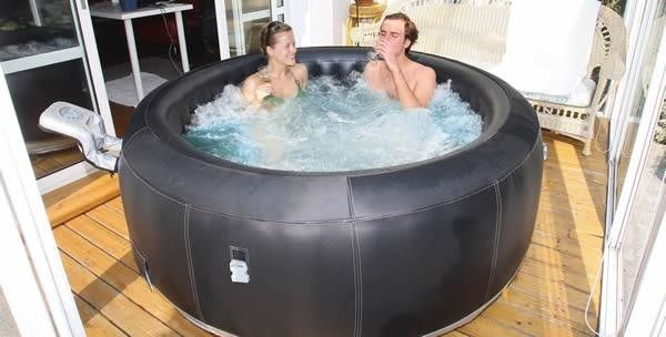Inflatable Portable Hot Tub If You Re Looking To Finish