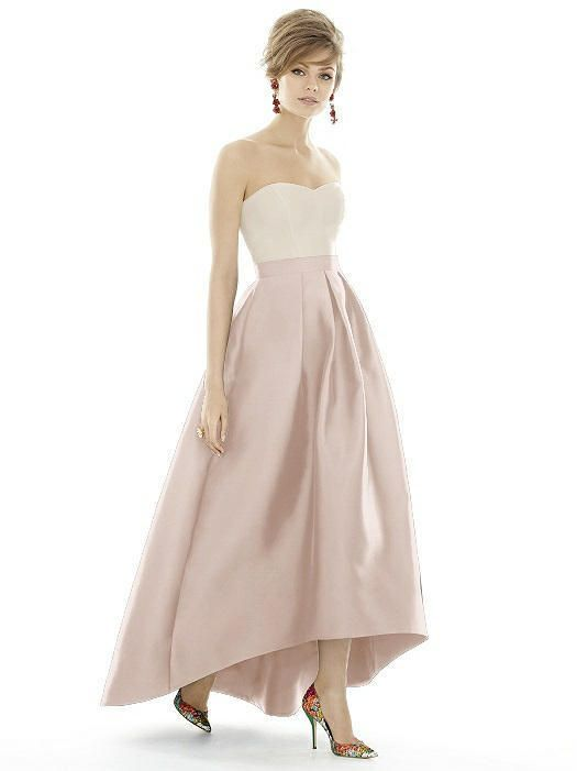 Alfred Sung - D699S Dress In Blush at CoutureCandy #affiliatelink