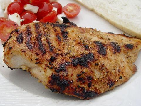 Garlic Grilled Skinless Boneless Chicken Breast