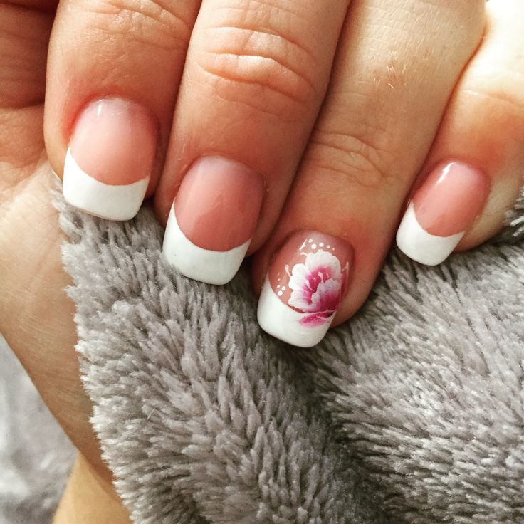 The 23 best Designs of my nails images on Pinterest | Clear nails ...