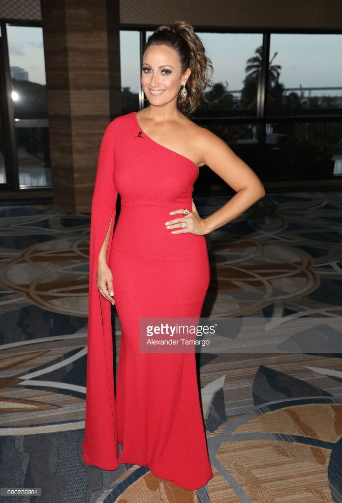 Karla Monroig is seen arriving at St Jude Gala on May 20, 2017 in Miami, Florida.