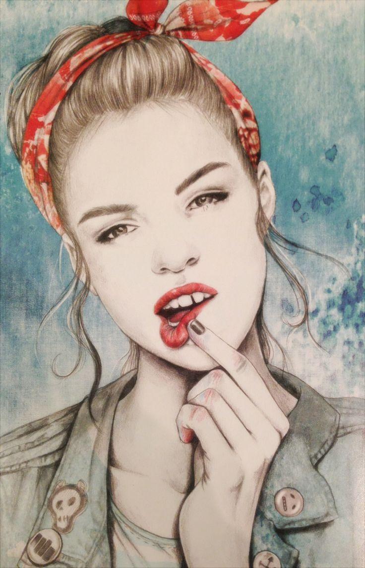 Nylon Magazine by Esra Roise #illustration #painting #drawing