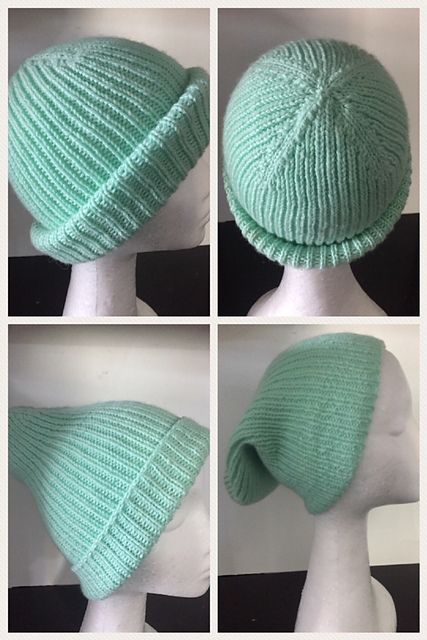 Ravelry: Single Rib Beanie pattern by Lisa Bean