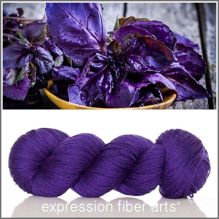 Expression Fiber Arts, Inc. - DEEP PURPLE BASIL YAK MERINO SPORT, $32.00 (http://www.expressionfiberarts.com/products/deep-purple-basil-yak-merino-sport.html)
