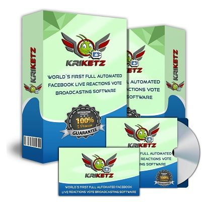 Kriketz Review - Kriketz a revolutionary live vote/polling plus 'keyword' comment broadcasting software that will help you get massive live engagement