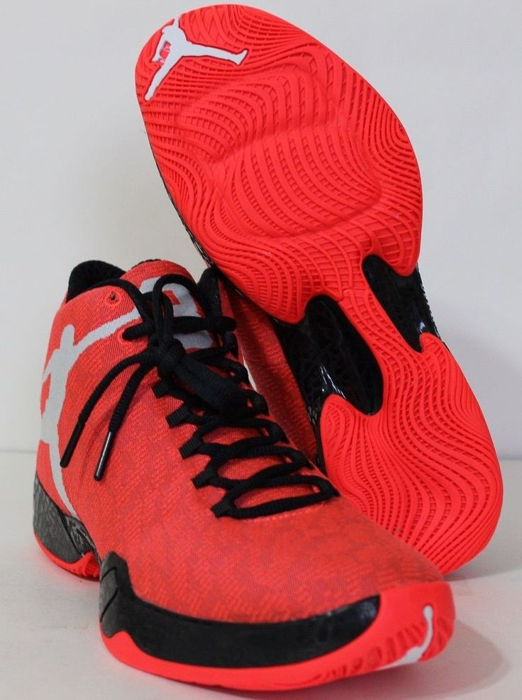 lowest price a63b6 ccc19 Authentic Nike Air Jordan XX9 Black Team Orange-Dark Grey 695515