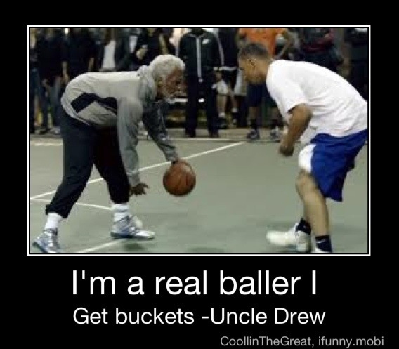 Uncle Drew Is A Boss